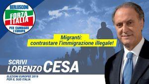 Lorenzo Cesa: contro il traffico di essere umani