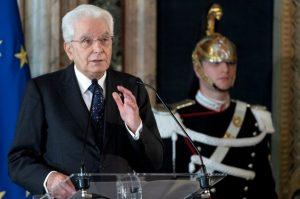 IL PRESIDENTE MATTARELLA CONSEGNA LE DECORAZIONI DELL'ORDINE MILITARE D'ITALIA
