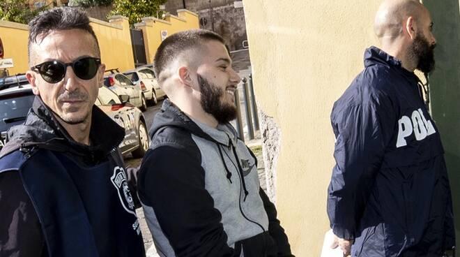 Foto arresto Del Grosso