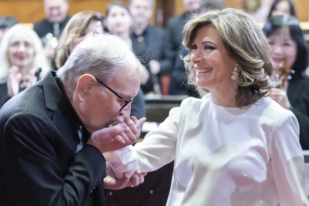 ECCELLENZA ITALIANA: ENNIO MORRICONE PREMIATO AL SENATO