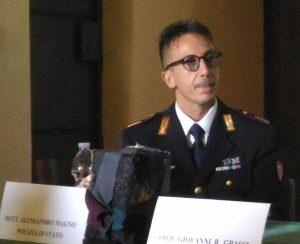 L'ASSISTENTE CAPO COORDINATORE ALESSANDRO MAGNO RICORDA IL COLLEGA MANCINI